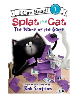 Harper Collins Splat The Cat The Name Of The Game - By Rob Scotton