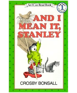 Harper Collins And I Mean It Stanley - By Crosby Bonsall