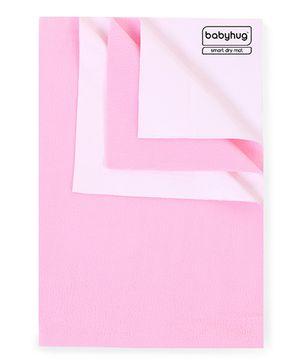 Babyhug Smart Dry Bed Protector Sheet Pink - Small
