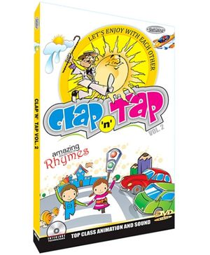 Future Books Clap N Tap Rhymes Vol. 2 - DVD