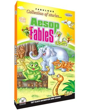 Future Books Fabulous Collection Of Stories Aesop Fables - DVD