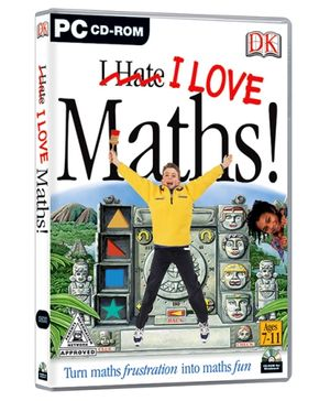 Interlude Technologies I Love Maths - PC CD ROM