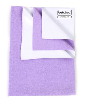 Babyhug Smart Dry Bed Protector Sheet Lilac - Large