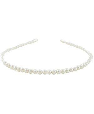 Angel Glitter Pearls Hair Band