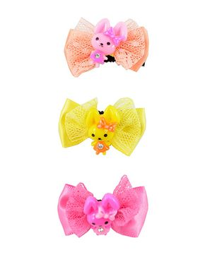 Angel Glitter Baby Bow Pattern Hair Clips