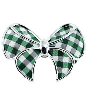 Angel Glitter Buckle Design Fashionable Rubber Band - Green