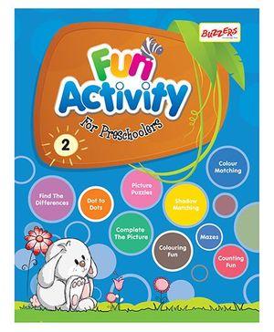 Buzzers Fun Activity Book for Preschoolers Volume 2 - English