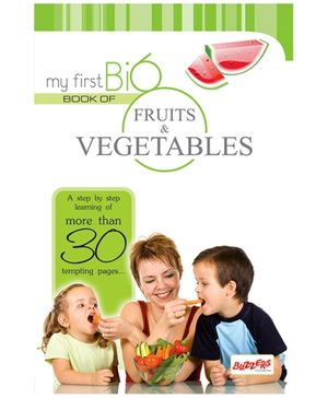 Buzzers My First Big Book Fruits and Vegetables  - English