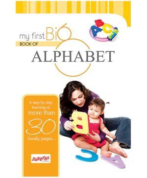 Buzzers My First Big Book Alphabets  - English