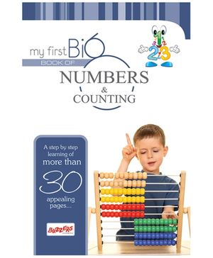 Buzzers My First Big Book Numbers - English