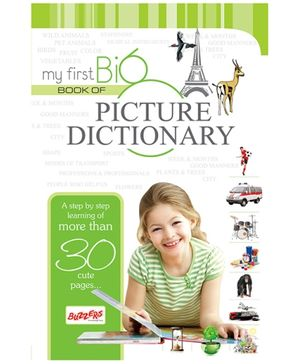 Buzzers My First Big Book Picture Dictionary - English