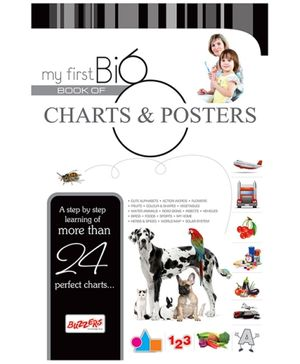 Buzzers My First Big Book Charts and Posters - English