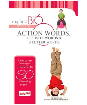 Buzzers My First Big Book Action Words - English