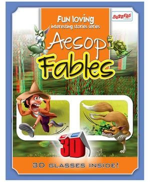 Buzzers Aesop Fables 3D Book - English