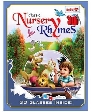 Buzzers Classic Nursery Rhymes 3D Book - English