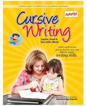 Buzzers Cursive Writing Capital Small And Two Letter Words - English