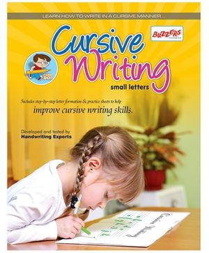 Buzzers Cursive Writing Small Letters - English