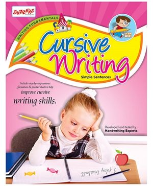 Buzzers Cursive Writing Simple Sentences - English