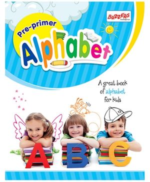 Buzzers Pre Primer Alphabet - English