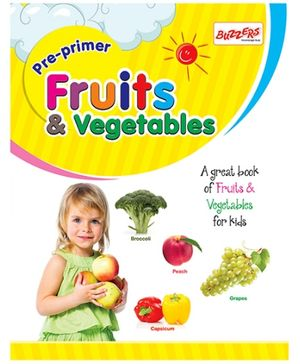 Buzzers Pre Primer Fruits And Vegetables - English