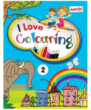 I Love Colouring Volume 2 - English