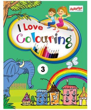 I Love Colouring Volume 3 - English