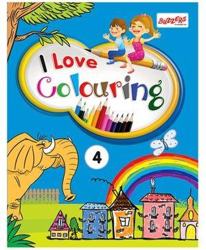 I Love Colouring Volume 4 - English