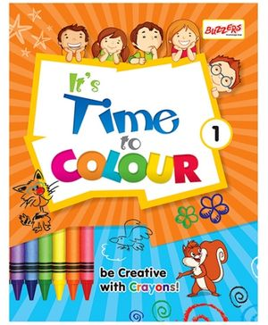 Buzzers Its Time to Color Volume 1 - English
