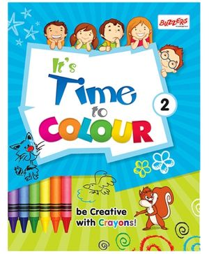 Buzzers Its Time to Color Volume 2 - English
