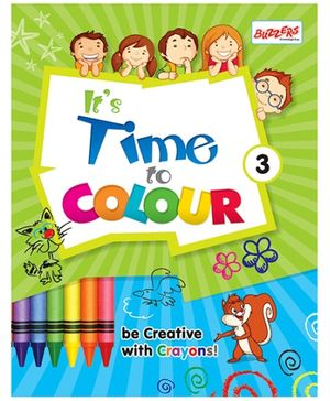 Buzzers Its Time To Colour 3 - English