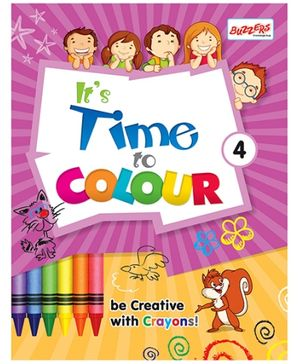 Buzzers Its Time To Colour 4 - English
