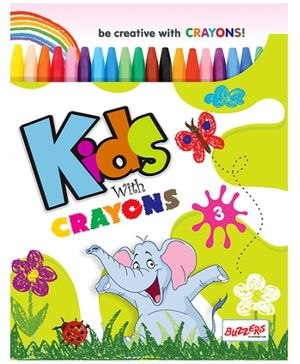 Buzzers Kids With Crayons 3 - English