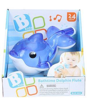 BKids Bath Time Dolphin Flute - Blue