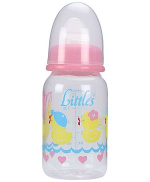 Little's Classic Mini Feeding Bottle Pink - 125 ml