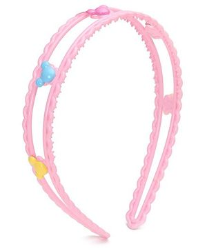 Disney Mickey Face Hair Band - Zig Zag Line