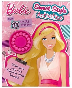 Barbie Sweet Style Activities - Over 40 Pretty Stickers