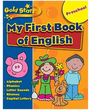 Parragon Preschool My First Book Of English