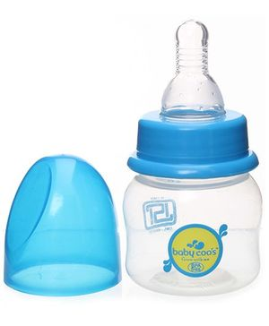 Baby Coo's Blue Feeding Bottle - 60 ML