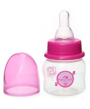 Baby Coo's Pink Feeding Bottle - 60 ML