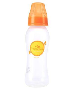 Baby Coos Feeding Bottle Orange  - 225 ml