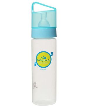 Baby Coos Feeding Bottle With Blue Lid - 250 ml