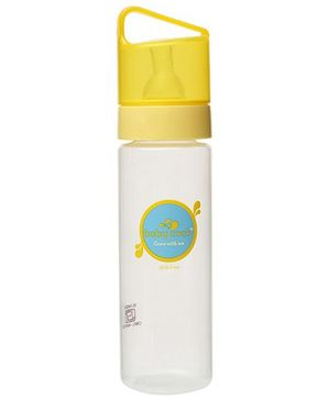 Baby Coos Feeding Bottle With Yellow Lid - 250 ml
