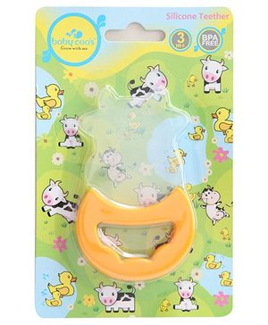 Baby Coo's Silicone Teether Cow Shaped - 3 Months Plus