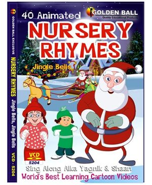 Golden Ball Animated Nursery Rhyme Jingle Bells - VCD