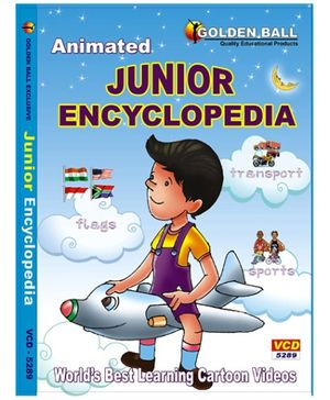 Golden Ball Animated Junior Encyclopedia - VCD