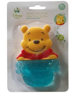Disney Winnie The Pooh Water Filled Teether - Blue
