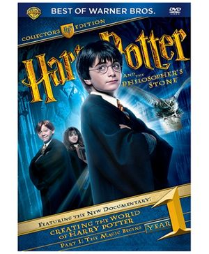 Sony Harry Potter And The Sorcerers Stone - DVD