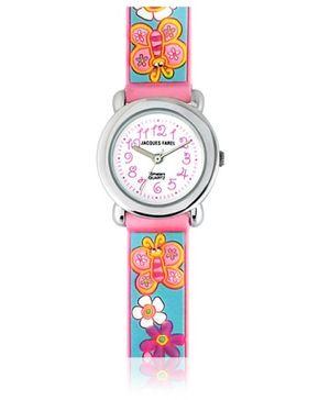 Jacques Farel Kids 3D Strap Wristwatch Blue