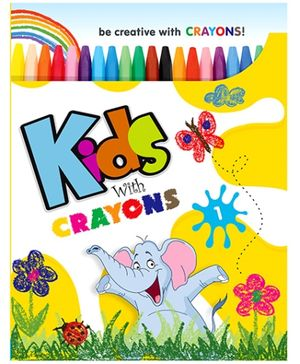 Future Books Kids With Crayons 1 - English