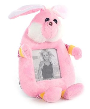 Fab N Funky Rabbit Shape Photo Frame - Pink